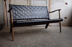 L.A.W (leather. ash. walnut) two seater version