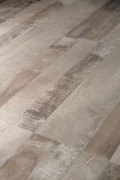 Inessence by Provenza is a mix of recycled wood and stone-cement looks, a trend that has grown in the past few years. Italy Tile