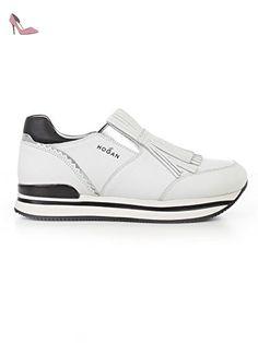 Enfants Hogan Stripe Unique Chaussures De Sport - Blanc xj8zMZz
