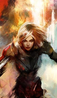 Shepard as I see her. Beatiful artwork.