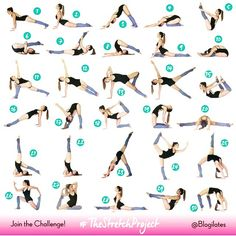 I shall commit to doing the 30 day stretch challenge. #thestretchproject #blogilates