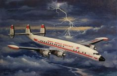 Superconstellation-Also used as military transports in the 50's and 60's.