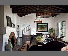 Vintage Monterey Furniture | ... Keaton's Beverly Hills home, furnished in vintage Monterey furniture