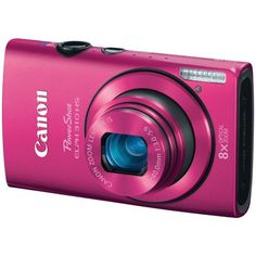Canon PowerShot ELPH 310 HS 12.1 MP CMOS Digital Camera with 8x Wide-Angle Optical Zoom Lens and Full 1080p HD Video (Pink) by Canon. $349.99. Amazon.com                   ELPH 310   A Masterpiece of Design and Technology  Ultra-Slim, Elegant Design   At a slim 0.87 inches, the PowerShot ELPH 310 HS digital camera is super-thin, making it a perfect choice for those who desire a small camera that fits easily in a pocket. With five cool metallic colors to choose from (Purple, Bl...