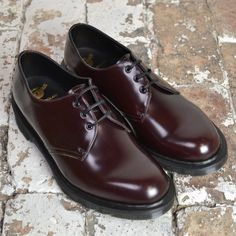 Dr Martens Merlot Boanil Brush 1461 Shoe Doc Martens Oxfords, Dr. Martens, Oxford Shoes, Dress Shoes, Footwear, Lace Up, Fashion Outfits, My Style, Stuff To Buy