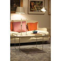 Hold bord L, vit/krom – Maze – Köp online på Rum21.se