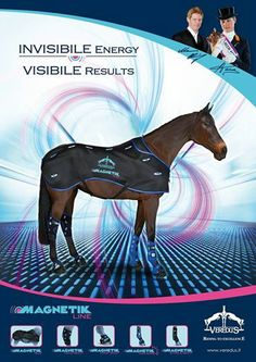 Magnetotherapy is a medical method for curing certain pathologies in man and in animals, by exploiting magnetic fields.  Here is why our Magnetik line is so appreciated by the best riders and grooms in the world: https://www.facebook.com/media/set/?set=a.620153581350939.1073741843.150677368298565&type=3