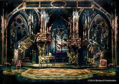 1. Revivals: (Greek, Gothic and Romanesque Revivals) A. Gothic Revival - Amadeus Set Design by Richard Finkelstein, Stage Designer