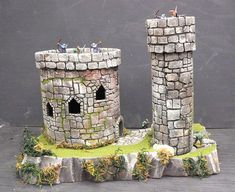 Hirst Arts, Wargaming Terrain, Fantasy Miniatures, Tabletop Games, Medieval Fantasy, Model Building, Miniture Things, Plans, Warhammer 40k