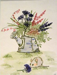 SALVIA FLOWER. Sold separately are the other flowers and the large flower pot, mouse, water can.  Made by Art Impressions. All can be found in my ebay store & Can be purchased there.  Pat's Rubber Stamps & Scrapbooks, click on the picture to see it, or call me 423-357-4334 with order, or come by 1327 Glenmar Ave. Mt Carmel, TN 37645, Pat's Rubber Stamps & Scrapbook supplies 423-357-4334. We take PayPal. You get free shipping with the phone orders of $30.00 or more. Use my search engine to…