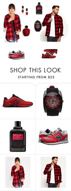 """""""Red goals❣️"""" by inastefanuta ❤ liked on Polyvore featuring New Balance, Tateossian, Givenchy, New Balance Classics, Wet Seal, Superdry, Satine and 1st & Gorgeous by Carolee"""