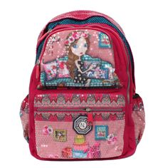 Nicole Lee Hailee Iris Sequined Wrinkle-resistent Crinkled Laptop Backpack
