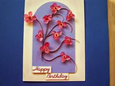 Joanna 'art: Happy Birthday, Blog, Handmade, Art, Happy Brithday, Art Background, Hand Made, Urari La Multi Ani, Kunst