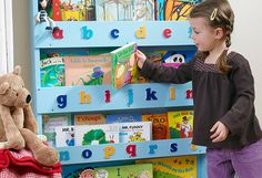 We all want our children to read more. So here's a great solution - their height library.....Cool, ha?!