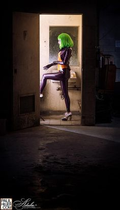Cosplay Joker Látex