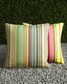 "#Horchow  ""Barcelona"" Decorative Pillow at Horchow."