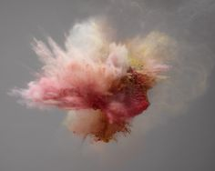 ✖️Marcel Christ's Exploding, Bursting, and Smoking Colors:  ✖️More Pins Like This One At FOSTERGINGER @ Pinterest✖️