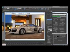 Create a Photorealistic Car Render using Max and Vray 3ds Max Tutorials, Vfx Tutorial, Virtual Reality Headset, Motion Blur, Depth Of Field, 3d Max, Visual Effects, Zbrush, Cgi