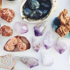Украшения из натурального камня Smoky Crystal