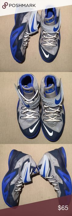 NIKE ZOOM SOLDIER 8 Used NIKE ZOOM SOLDIER 8. Size 6.5Y Item runs true to size. Unisex Shoes Sneakers