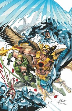 THE SAVAGE HAWKMAN #14 by JOE BENNETT and ART THIBERT