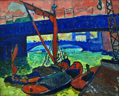 André Derain [French; Fauvism, les Fauves ('The Wild Beasts'), 1880–1954]: View of Collioure, 1905. - Google Search