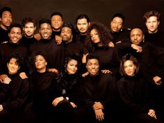 Janet Jackson and her army