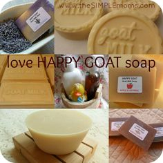 happy goat soaps :: review and giveaway