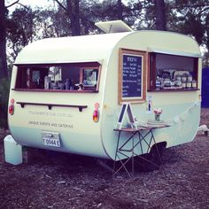 """My Sweet Alice"" mobile coffee van with vintage flair @ Canberra Day Festival x"