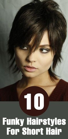 10 Funky Hairstyles For Short Hair