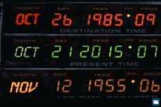 October Marty McFly arrives in the future On this day in Marty McFly and his friend Dr. Emmett 'Doc' Brown, arrive from the year Marty has travelled to the future in order to. Marty Mcfly, 10 Film, Future Days, The Future Is Now, Christina Ricci, Jessica Rabbit, Robin Williams, Beetlejuice, Saga