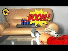 КАК СДЕЛАТЬ ПУЛЕМЕТ РЕЗИНКОСТРЕЛ  Стрелялки продаются в каждом магазине игрушек, но их легко сделать самому! Только и нужно - ловкость рук и ваша смекалка. А ребенку бонус - стреляет резинками на несколько метров и безопасен для окружающих.  Как сделать, смотрите в видео → https://www.youtube.com/watch?v=wFOlavVc5Tc  Для лафхака вам понадобится: ➜ Клеевые пистолеты для склейки труб: https://f.ua/shop/kleevye-pistolety/ ➜ Весь ручной инструмент для самоделок: https://f.ua/shop/remont/