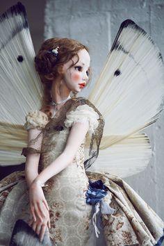 Fairy Dolls, Bjd Dolls, Doll Toys, Barbie Dolls, Dolly Doll, Big Eyes Artist, Handmade Stuffed Animals, Doll Repaint, Ball Jointed Dolls