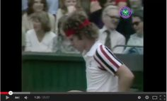 The first time that Ice met Fire in a Wimbledon final, Bjorn Borg and John McEnroe battled out over five tempestuous sets in before Borg eventually retained his title. Wimbledon Final, Bjorn Borg, Finals, Tennis, Final Exams