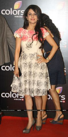 Roop Durgapal at Colors party