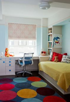 Modern kids room design reflects the latest trends in decorating blending neutral and bright room colors, bringing eco-friendly accents, efficient lighting fixtures, and natural materials into interiors Contemporary Living Room Furniture, Colorful Furniture, Boys Room Design, Modern Kids, Furniture Styles, Elle Decor, Modern House Design, Room Colors, Home