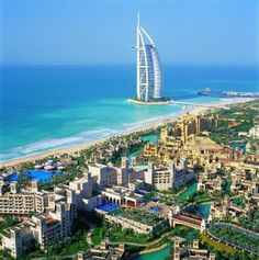 Burj Al Arab - Luxury Hotel in Dubai  Peace
