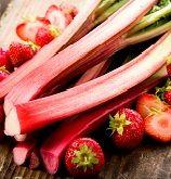 Festive Cranberry Rhubarb Bruschetta