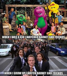 How I Met Your Mother....love it