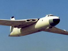 The Vickers-Armstrongs Valiant was part of the RAF's V bomber nuclear force in the and Navy Aircraft, Ww2 Aircraft, Military Jets, Military Aircraft, Vickers Valiant, Helicopter Cockpit, War Jet, V Force, Nuclear Force