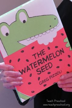 Wonderful Watermelons book and activity