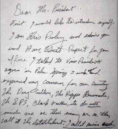 Elvis Presleys Handwriting Read The Analysis Of Him From A Expert At This Link