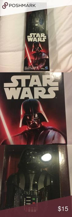 Darth Vader Action Figure Darth Vader action figure/keep sake still in original packaging. This is the perfect gift for any Star Wars fanatic. NEVER OPENED!!! Star Wars Other