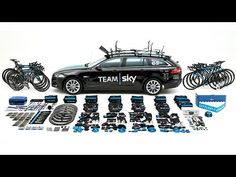 Team Sky's 2014 Tour de France Jaguar XF Sportbrake Unpacked - YouTube
