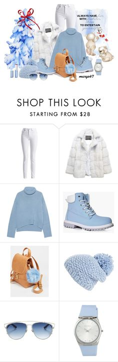 """""""zima 3"""" by margo47 ❤ liked on Polyvore featuring Barbour International, Lilly e Violetta, iHeart, Boohoo, Free People, Shiraleah, Christian Dior and ESCADA"""
