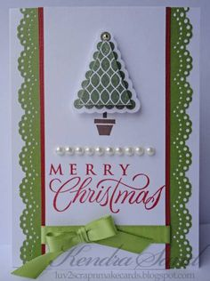 Elegant Merry Christmas by jksand - Cards and Paper Crafts at Splitcoaststampers