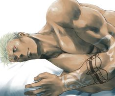 Scar on bed. Is this yaoi i'm sniffing? O.0 No, NOT HIM, pls. #fma