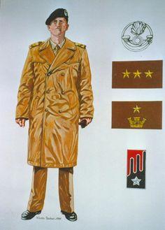 """Esercito Italiano - SOTTUFFICIALE DEI CAVALLEGGERI DI """"LODI""""- 1989."""
