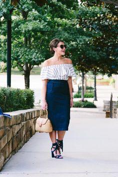 cb171d1c7ff55d fashion-blogger-denim-midi-skirt-off-the-shoulder-