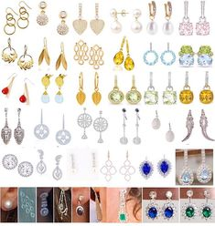 Here are all of Kate's earrings from her engagement onwards!  Kate's favourites are the Annoushka Pearl Drop earrings, her Kiki McDonough 'Grace' white topaz studs, her diamond and sapphire earrings inherited from Diana and her Kiki McDonough Citrine Drops.  My favourites have always been her pink Kiki McDonough morganite cushion drops  Do you have a favourite pair?
